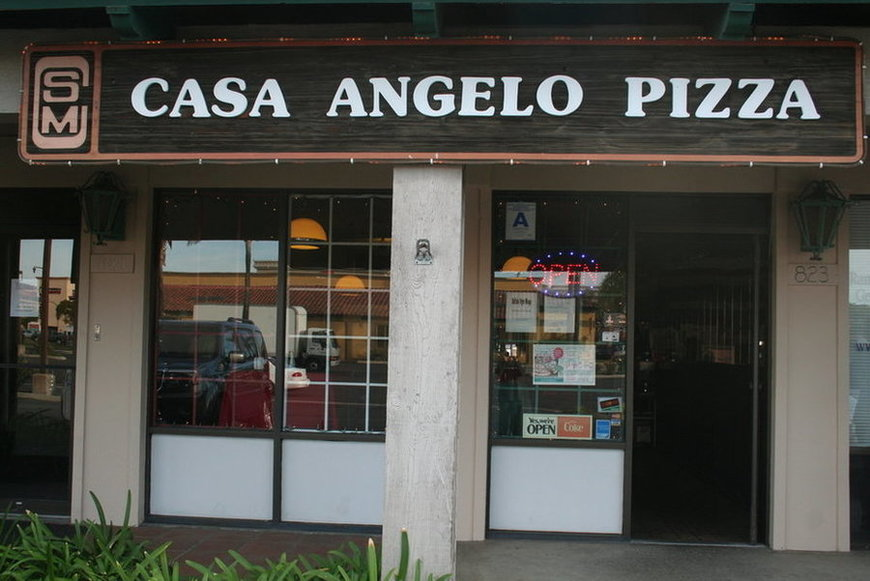 Casa Angelo storefront in San Marcos, CA